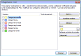 Usar Categorías de color en Outlook conIMAP